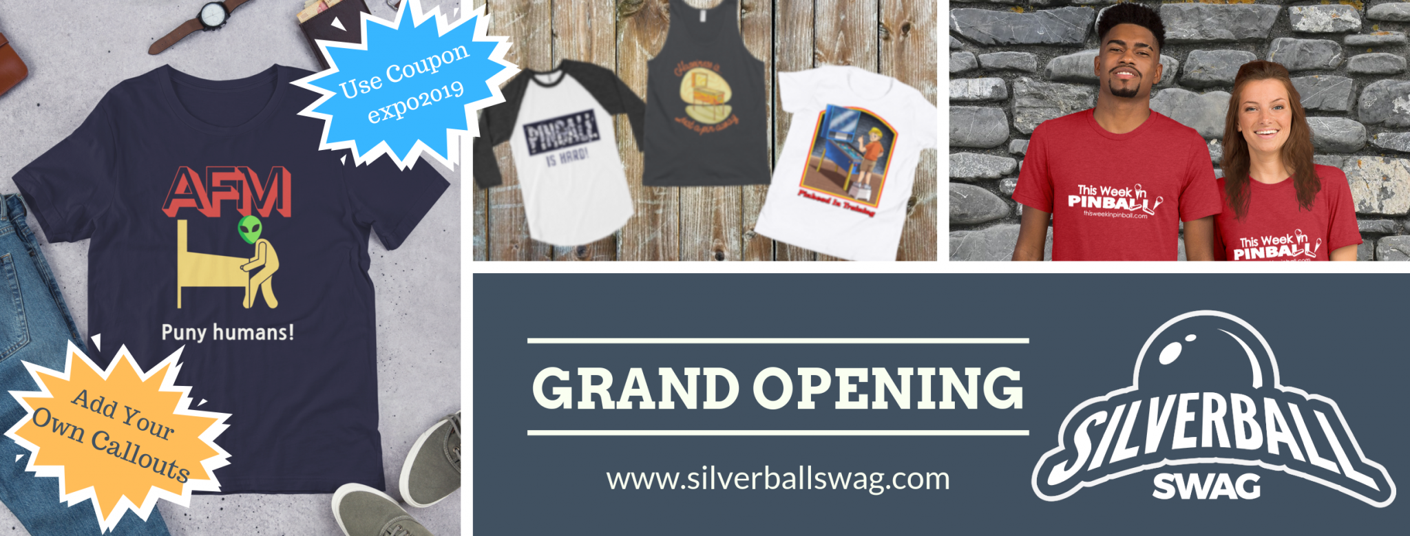 Silverball Swag - Grand Opening