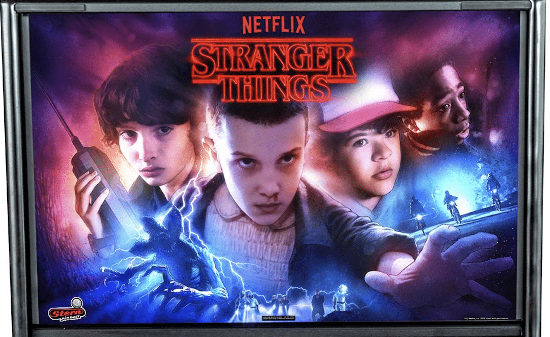 Stern Stranger Things