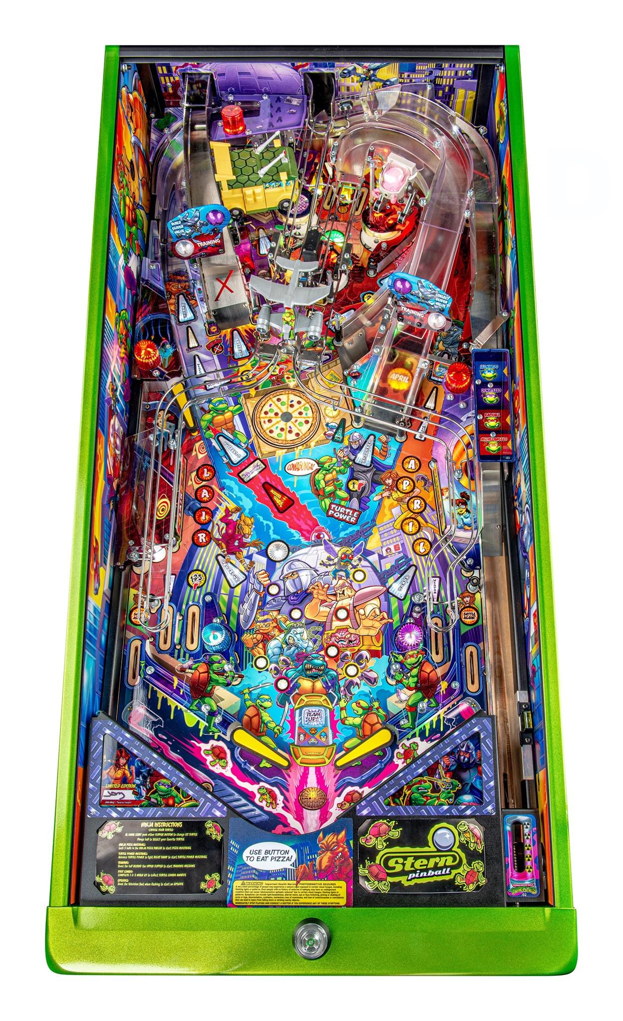 TMNT Pinball LE Playfield