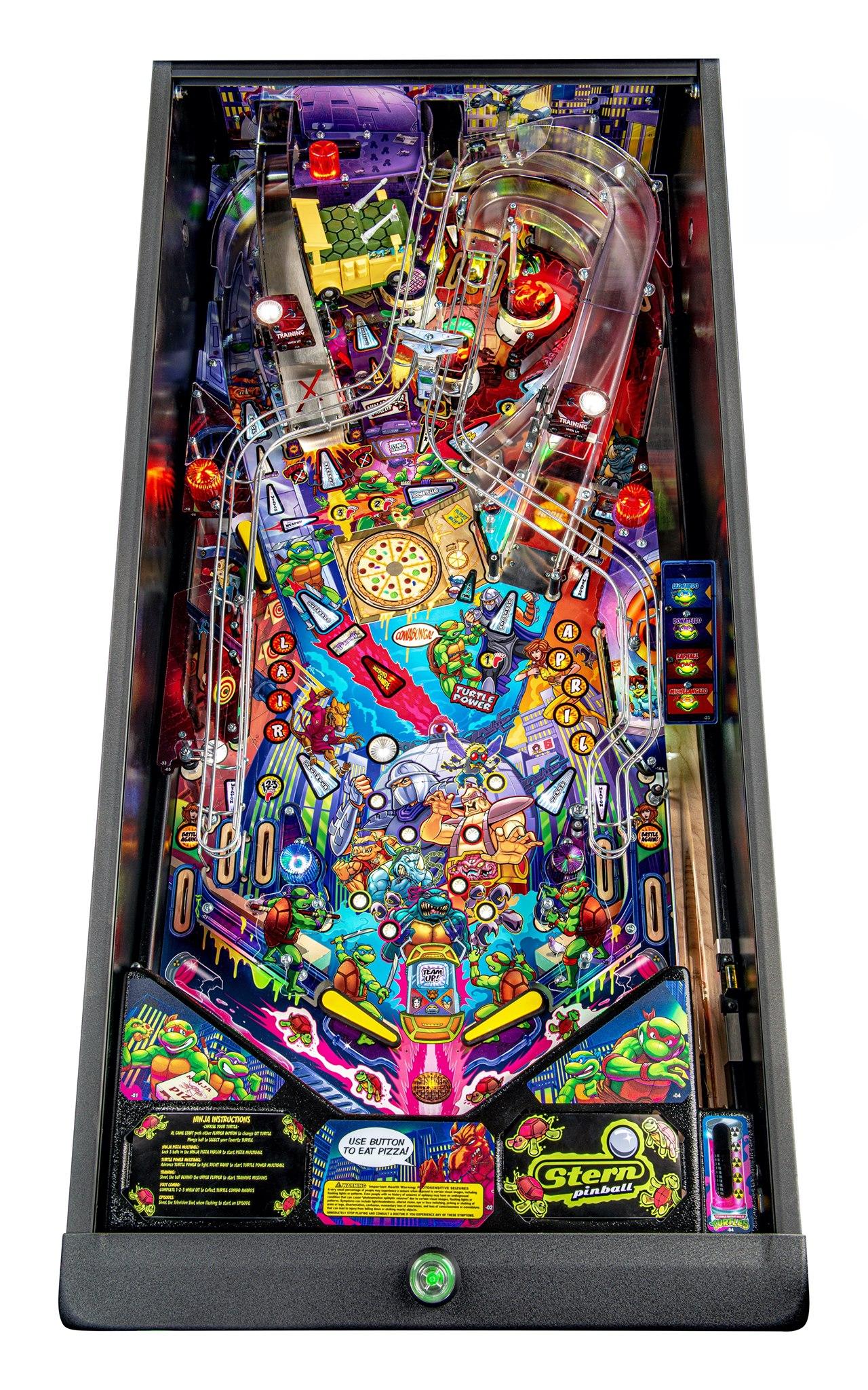 TMNT Pinball Pro Playfield