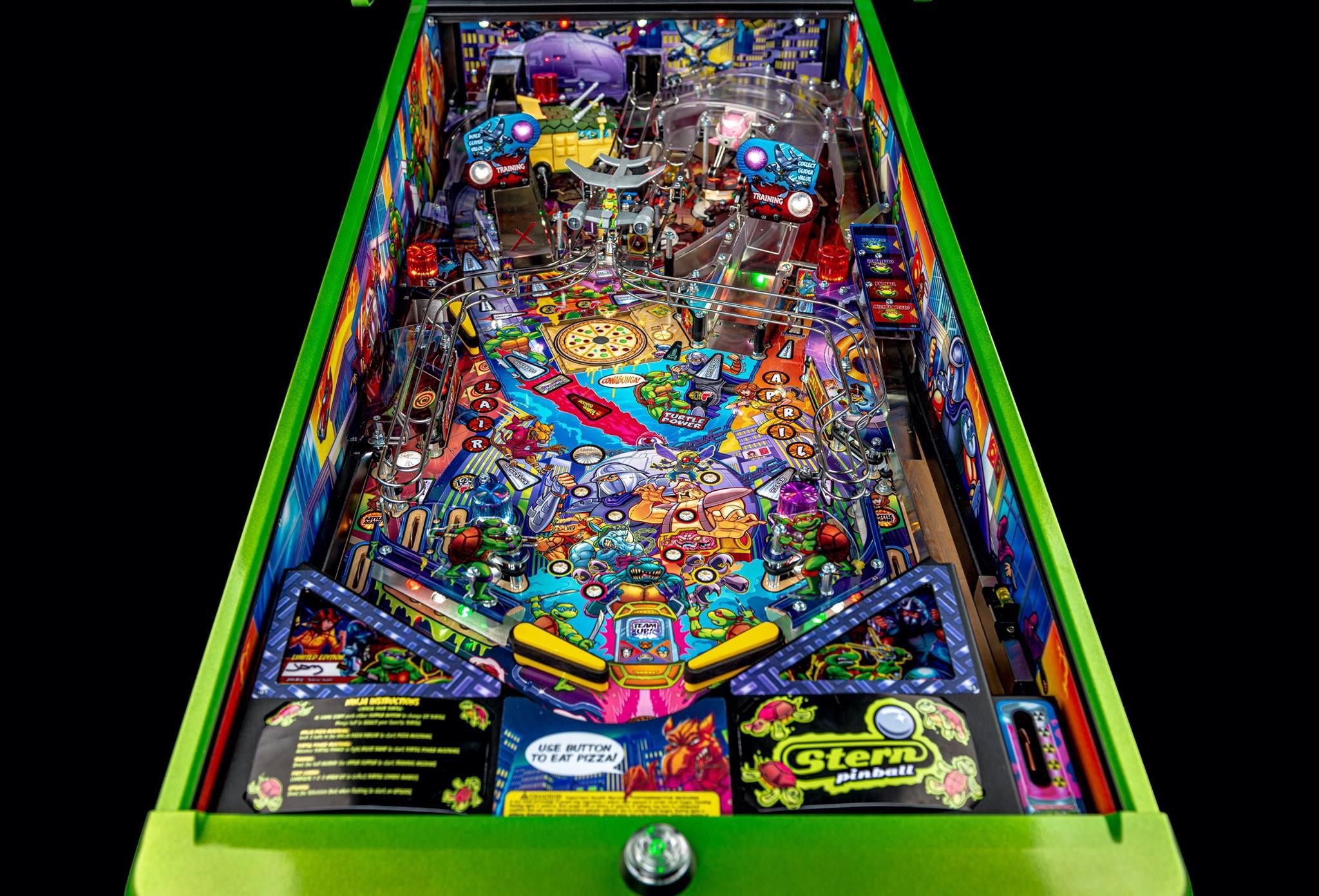 TMNT Pinball Playfield