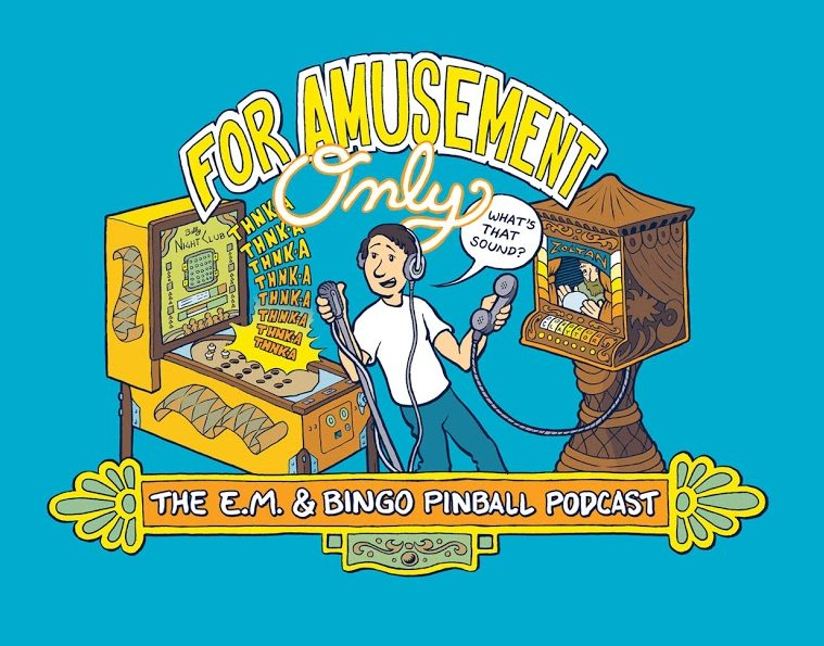 For Amusement Only EM and Bingo Pinball Podcast