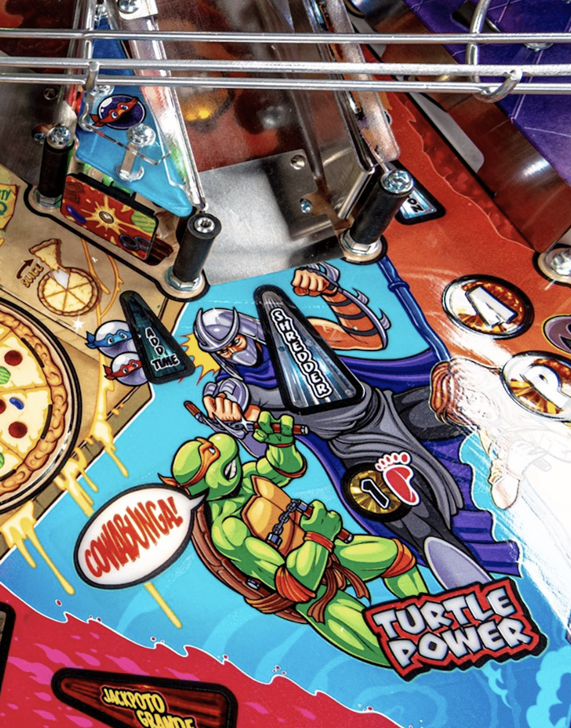 TMNT Pinball Turtle Power Multiball