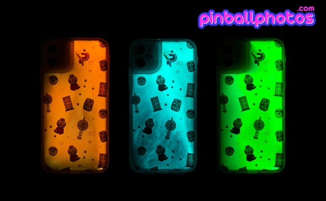 Pinball Photos Phone Cases Glow In The Dark