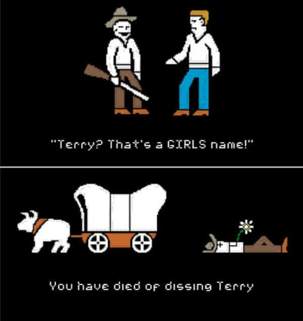 Dissing Terry