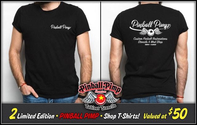Pinball Pimp Shirt Giveaway