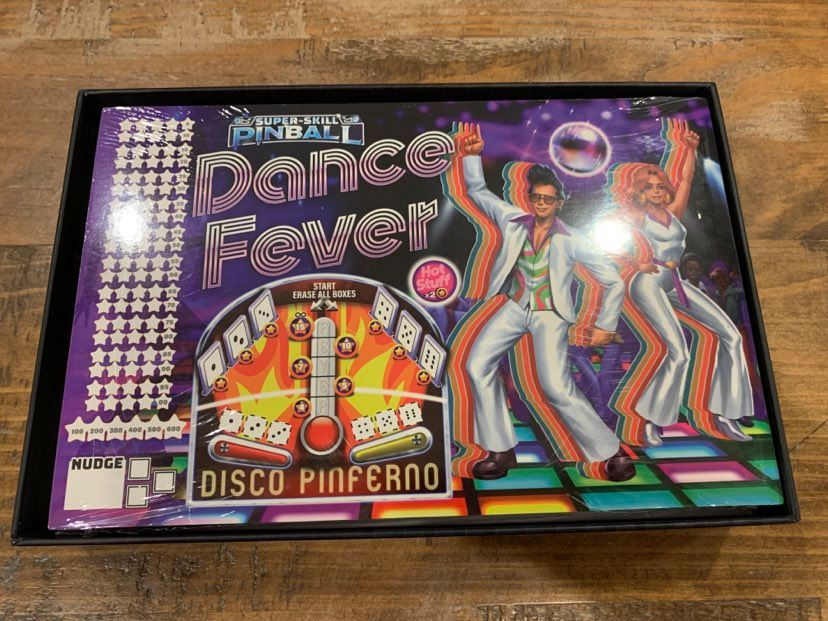 Super-Skill Pinball Dance Fever Backbox