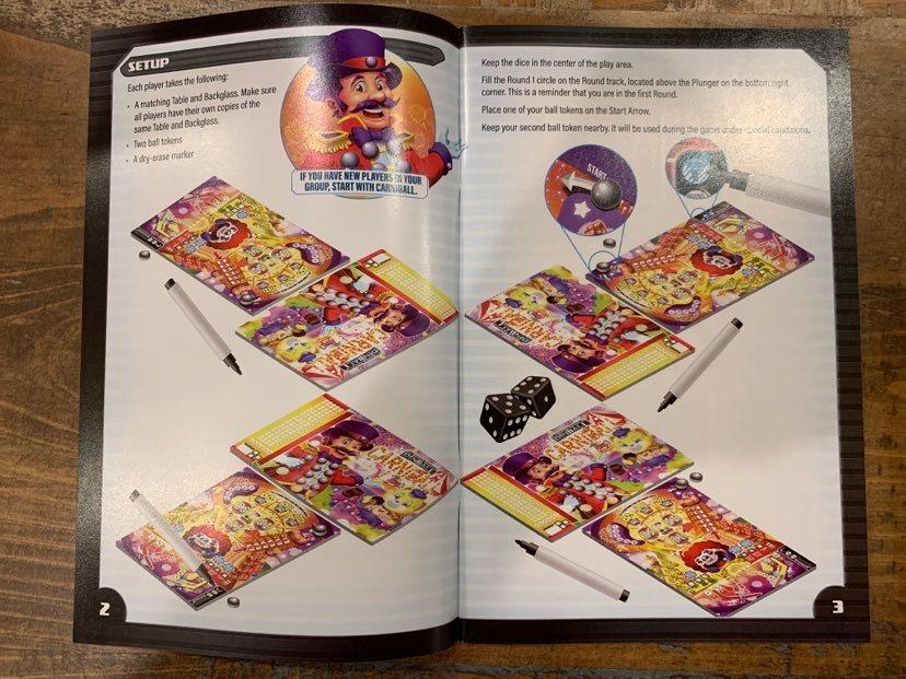 Super-Skill Pinball Instructions Booklet