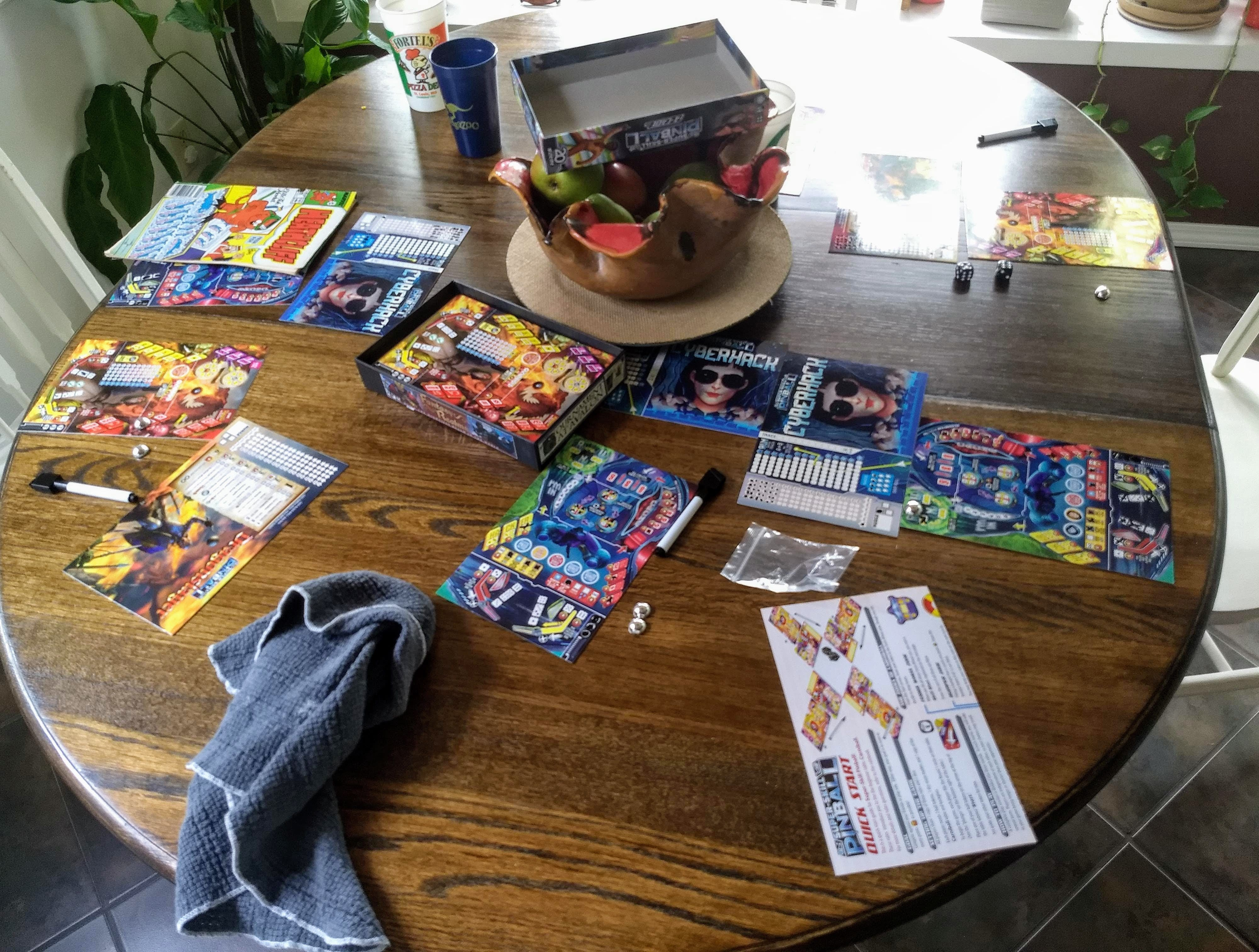 Super-Skill Pinball Game
