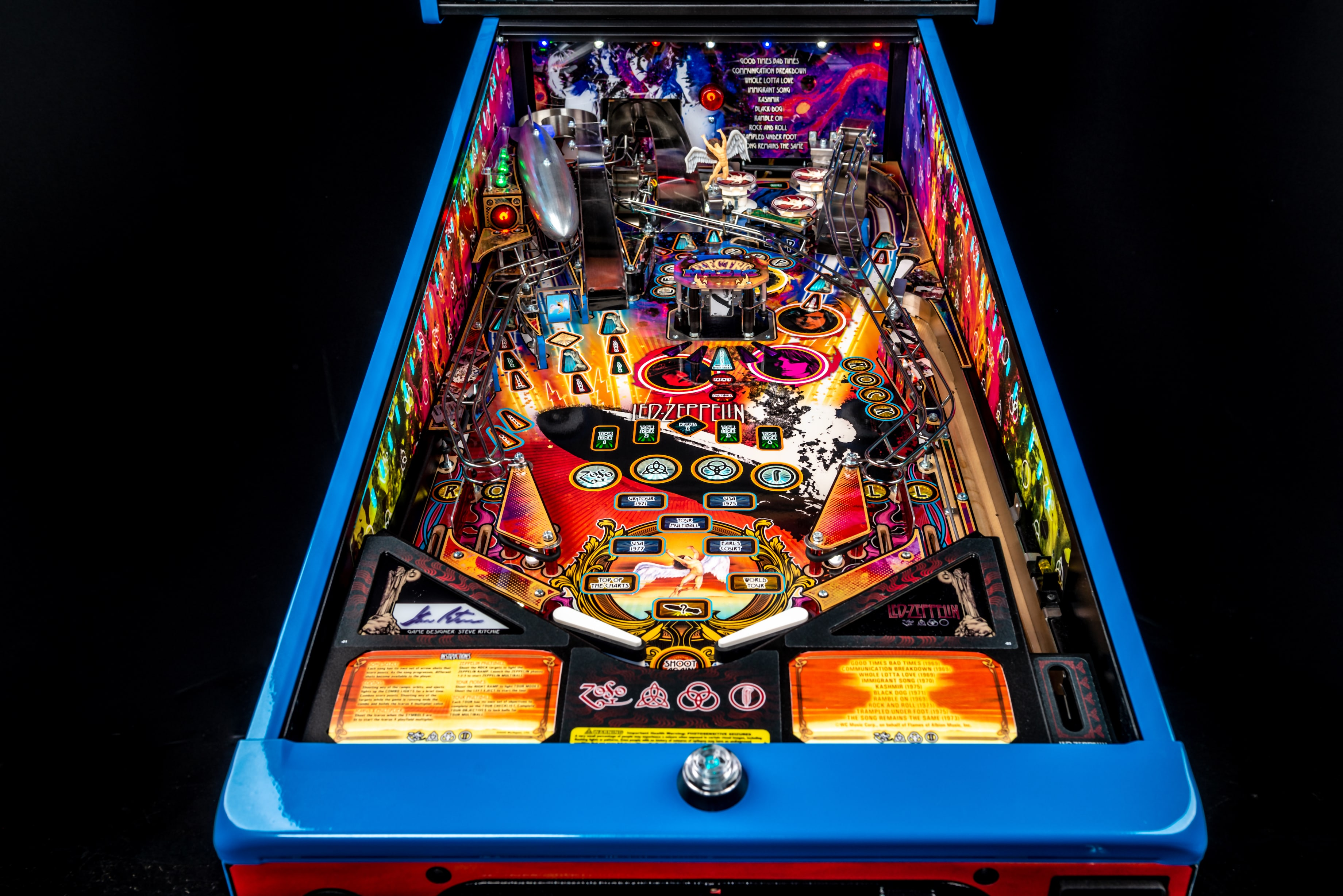 First Takes: Led Zeppelin by Stern Pinball