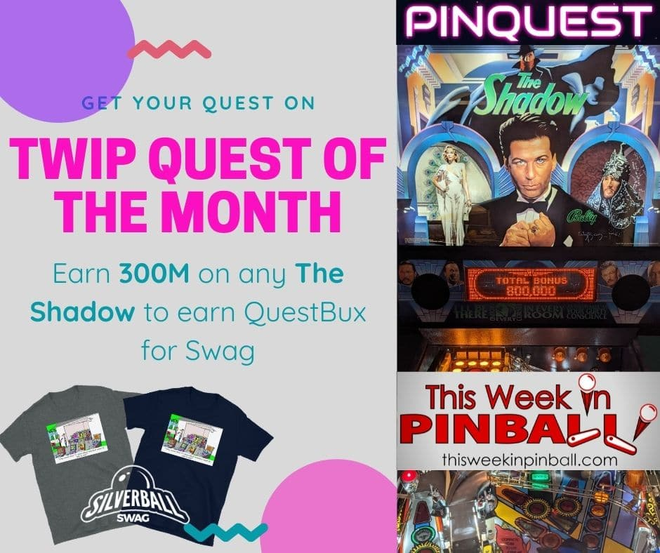 TWIP PINQUEST Quest of the Month