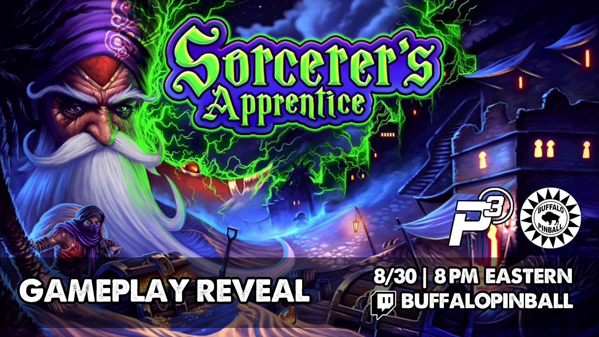 Buffalo Pinball Reveals Sorcerer's Apprentice