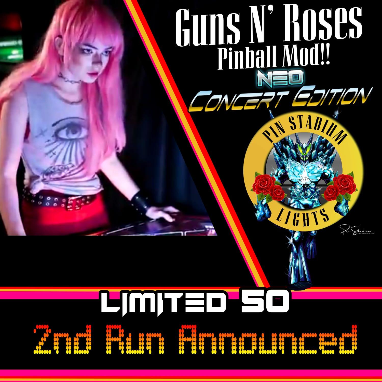 Pin Stadium Guns N' Roses Neo Concert Edition